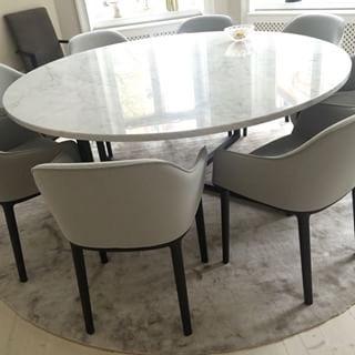 Matbord marmor